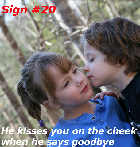 20 signs a guy is flirting with you Find the ten best signs like like texts, touches and body language that tell if a girl is flirting with you and wants to attract you at work or in college pay attention to these flirting signals to be sure about her feelings.
