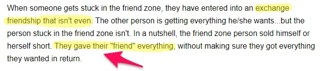 escaping the friend zone for girls